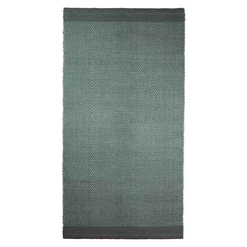 Rugs Design Aspegren Herringbone Green Mix 70x130