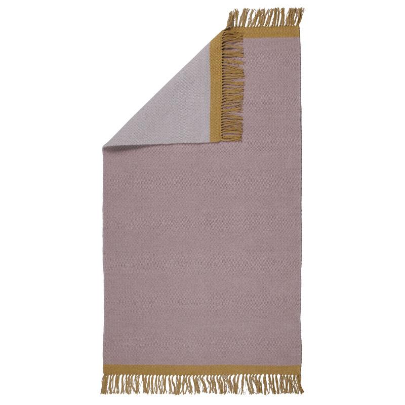 Teppiche Design Aspegren Kelim Solid Ash Rose 70x130