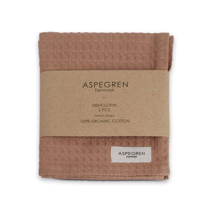Dishcloth Organic Design Aspegren North Almond