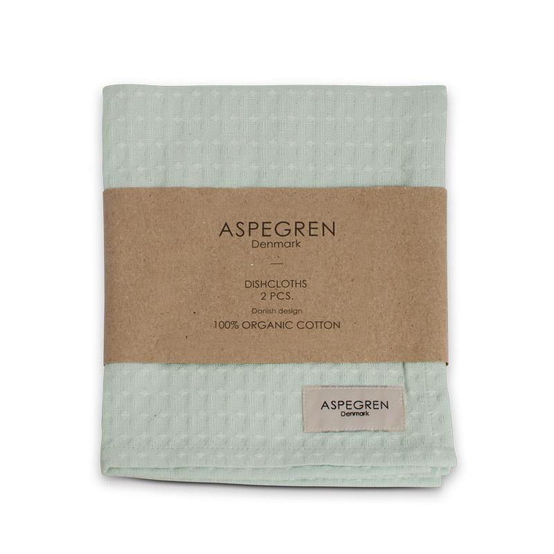 Abwaschtuch Organisch Design Aspegren North Mint