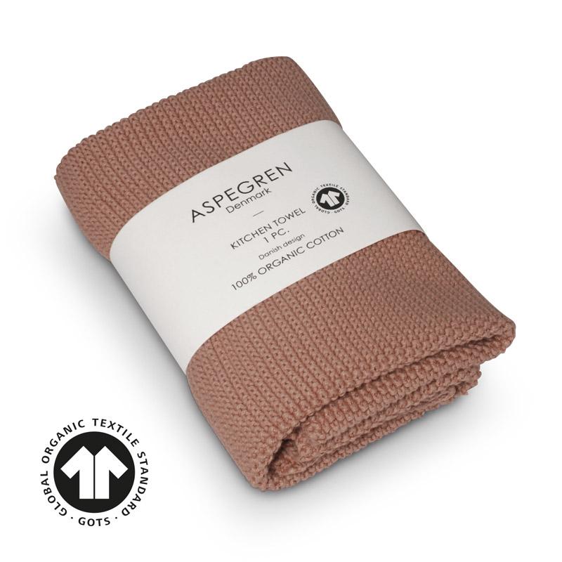 Køkken Håndklæde Design Aspegren Solid Pale Blush