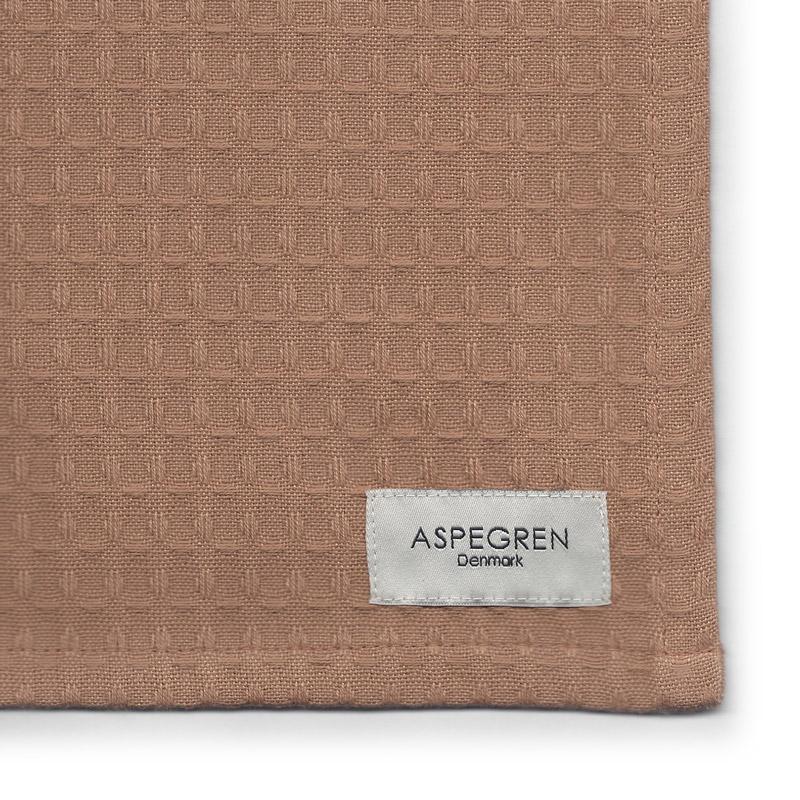 Tea Towel Organic Design Aspegren North Almond