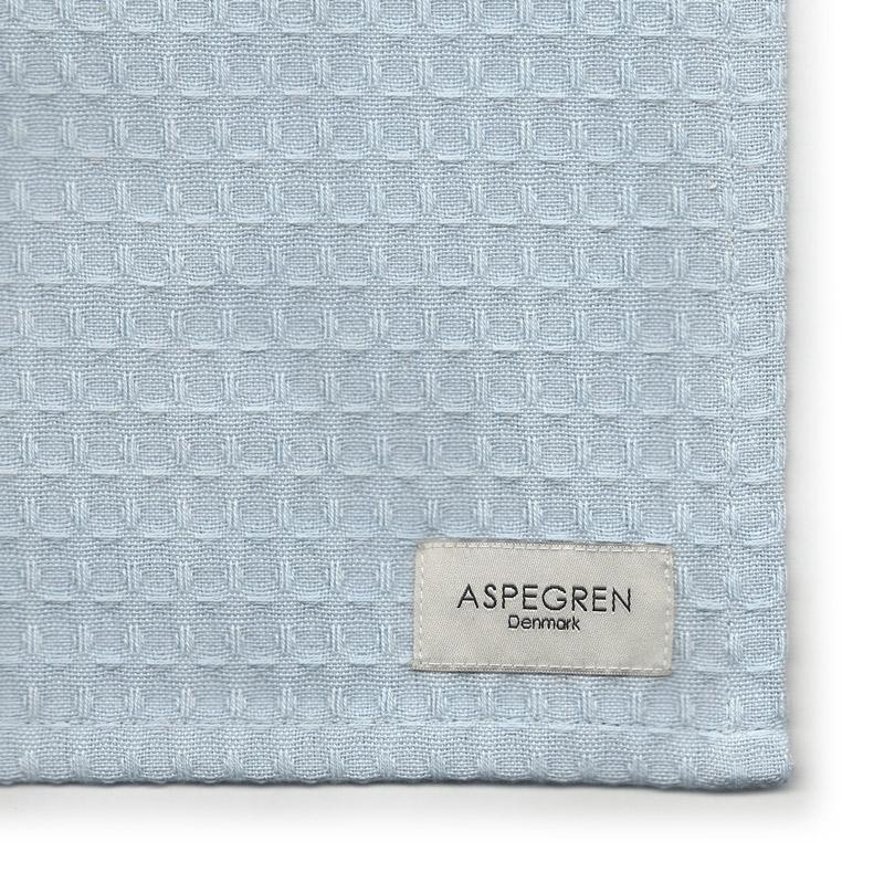 Tea Towel Organic Design Aspegren North Iceblue