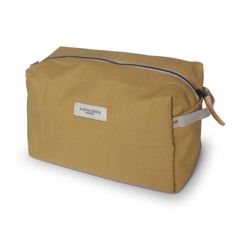 Box Kosmetiktasche Large Design Aspegren Mano Mustard