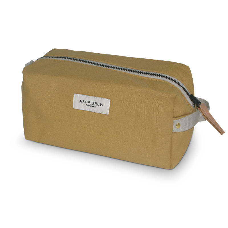 Box Makeup Bag Design Aspegren Mano Mustard