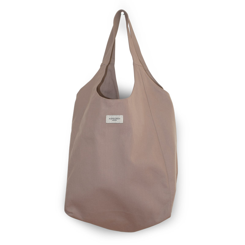 Canvas bag Tote Design Aspegren Mano Mauve