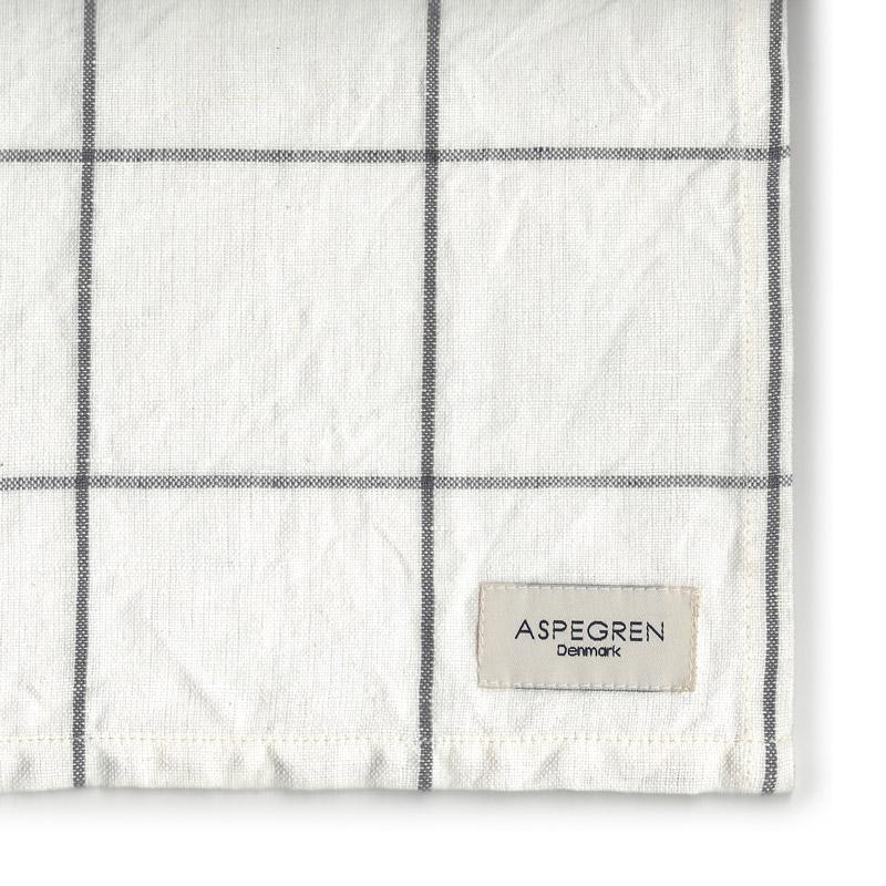 Viskestykker Design Aspegren Squares White and Black