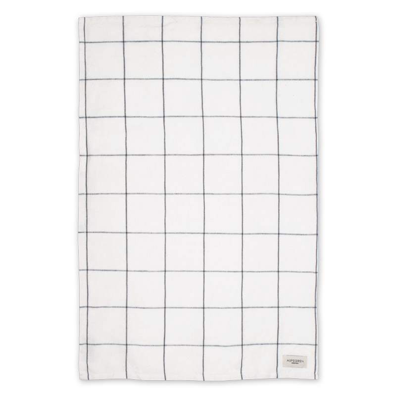 Viskestykker Design Aspegren Squares White and Black