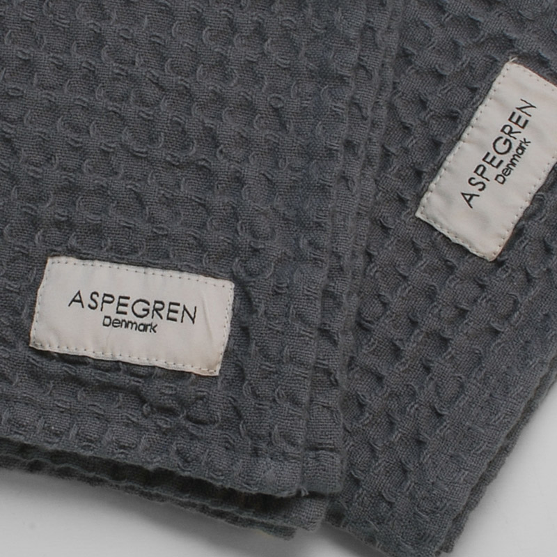 Viskestykker Organic Design Aspegren North Dark Gray
