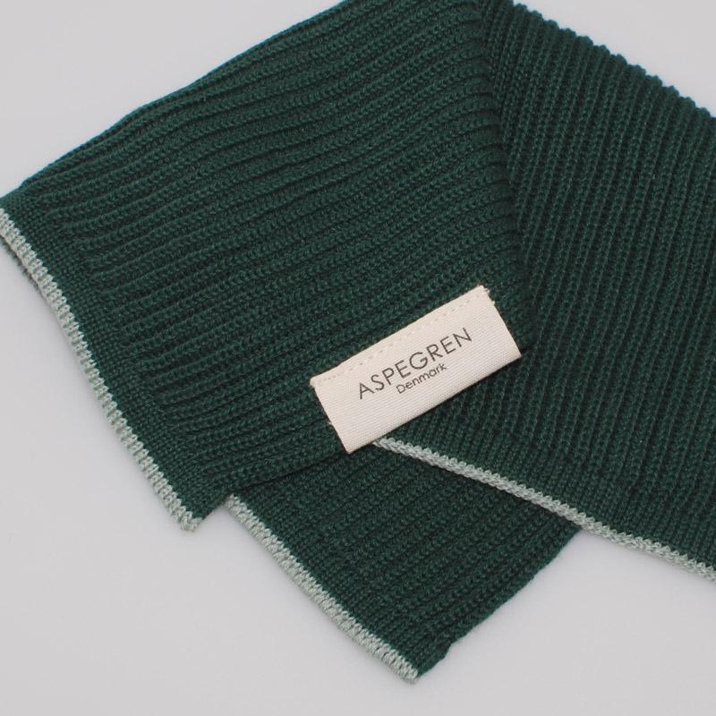 Dishcloth Knitted Design Aspegren Ripple Pine