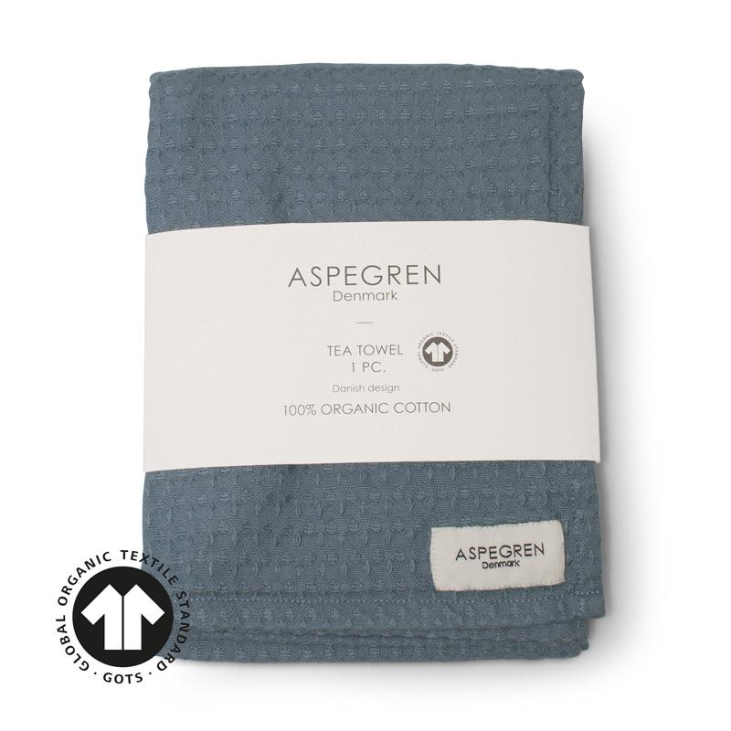 Viskestykker Organic Design Aspegren North Denim