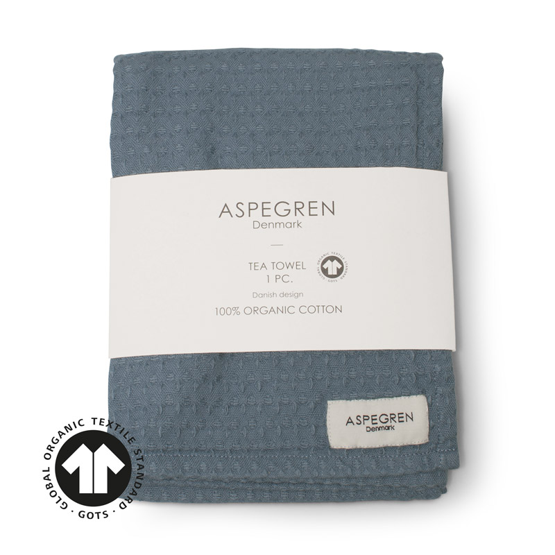 Tea Towel Design Aspegren North Denim