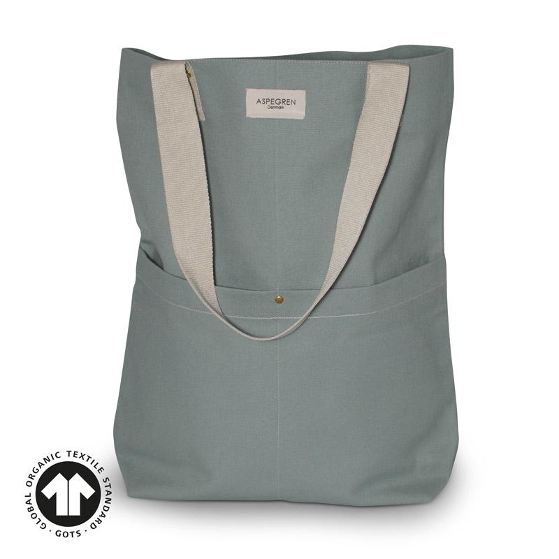 Einkaufstaschen Design Aspegren Mano Granite Green