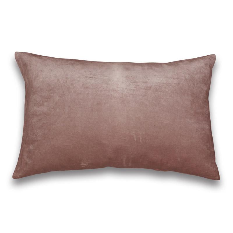 Cushion Velour Design Aspegren Solid Mauve