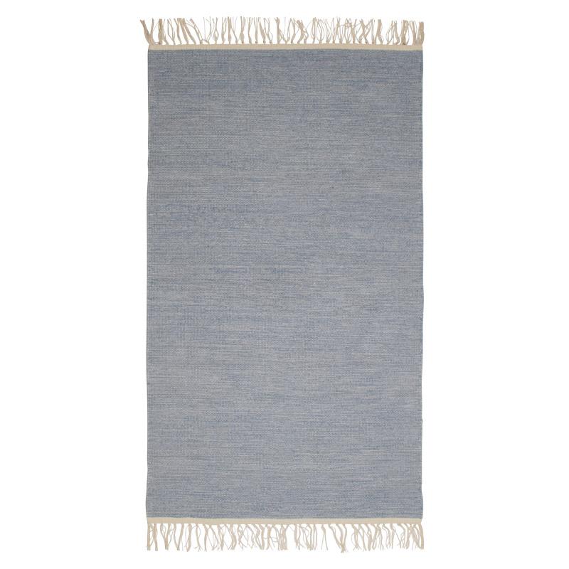 Gulvløber Design Aspegren Melange Blue 70x130