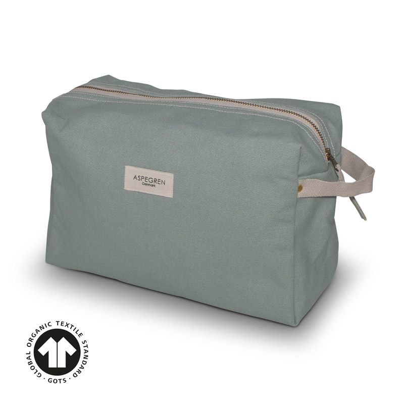 Box Kosmetiktasche Large Mano Granite Green