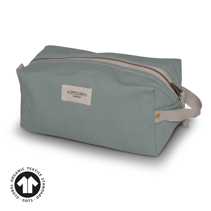 Box Kosmetiktasche S Design Aspegren Mano Granite Green