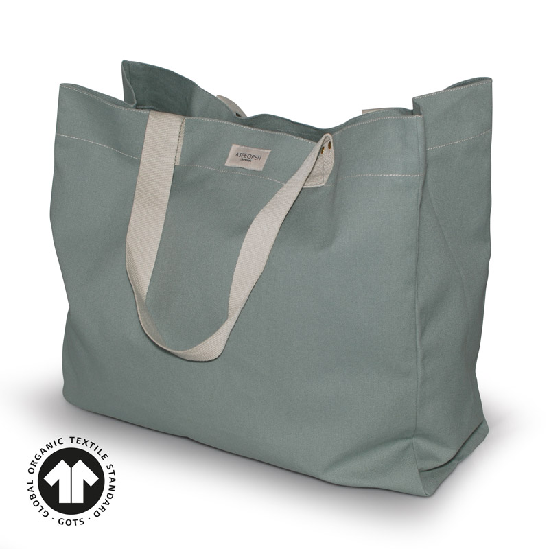 Canvas bag Tote Design Aspegren Vibe Granit Green